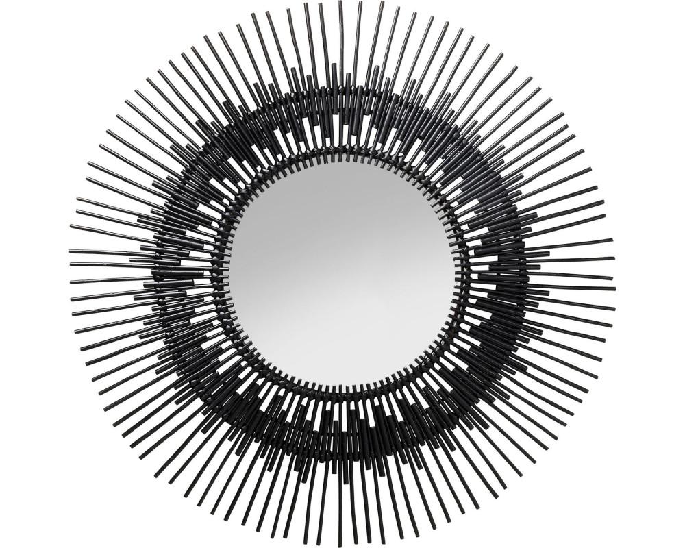 Зеркало Icario Black Ø90cm