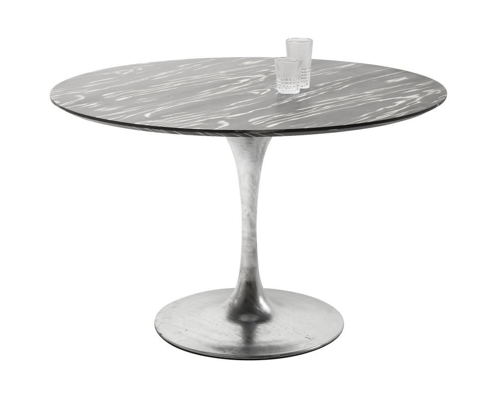 Стол Invitation Set Ebony Zinc Ø120cm