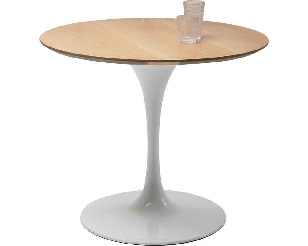 Стол Invitation Set Oak White Ø90cm