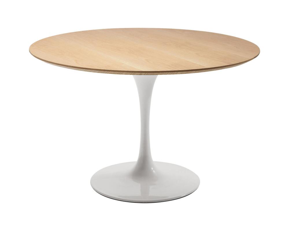 Стол Invitation Set Oak White Ø120cm