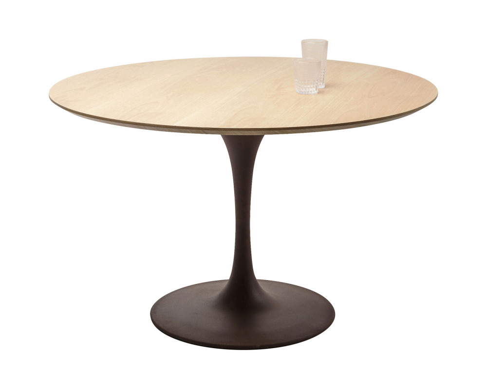 Стол Invitation Set Oak Black Ø120cm