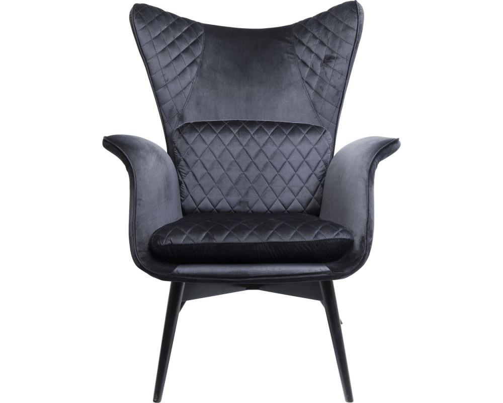Кресло Tudor Velvet Black