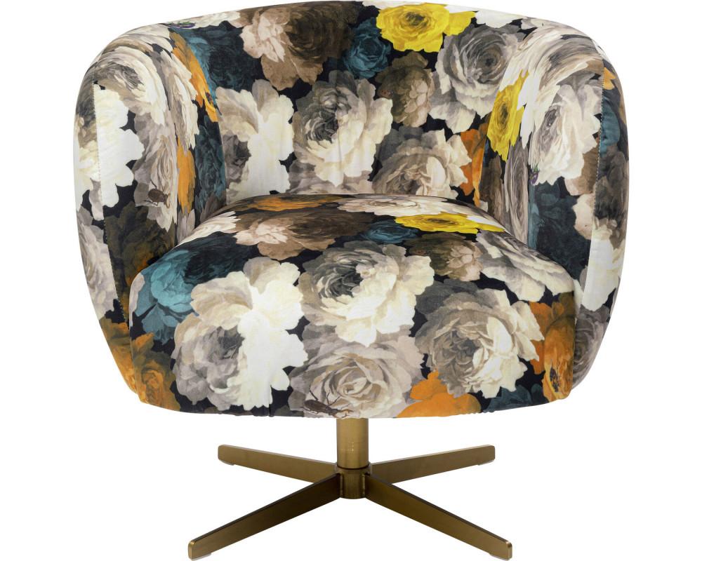 Кресло вращающееся Peony Yellow