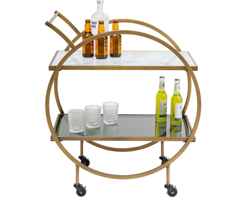 Стол сервировочный Loft Brass