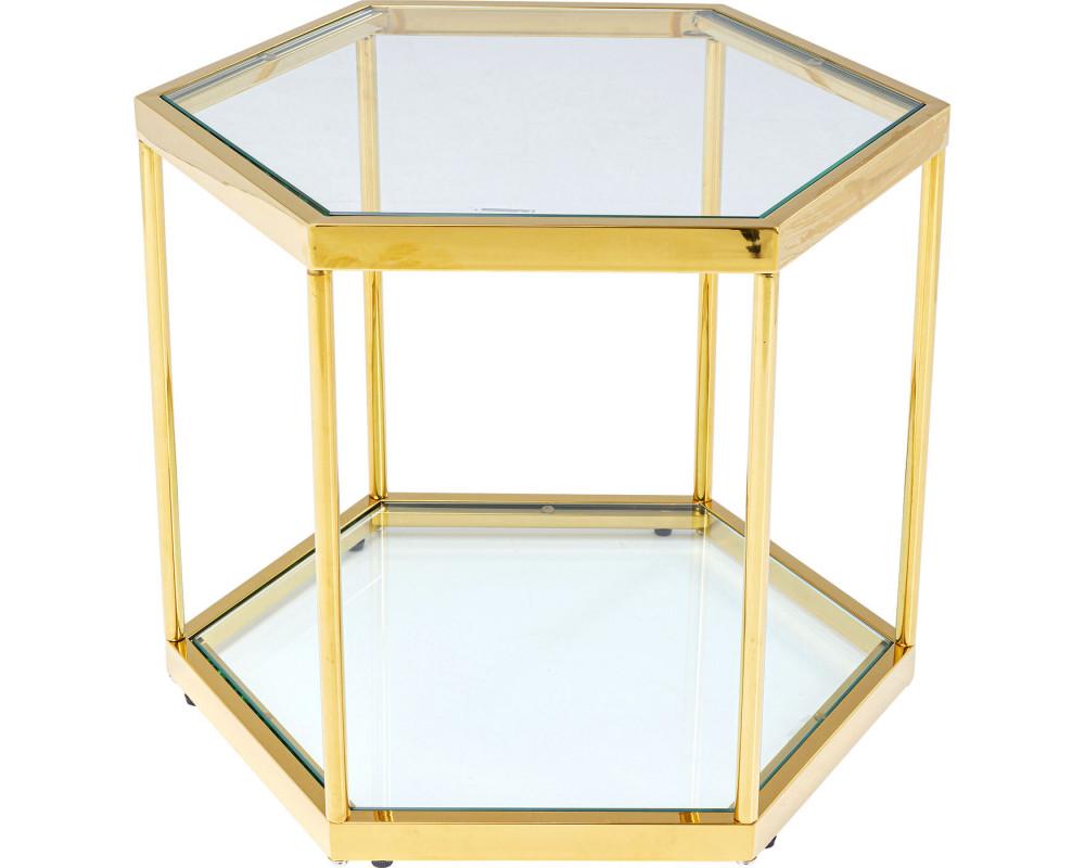 Стол кофейный Comb Gold 45cm