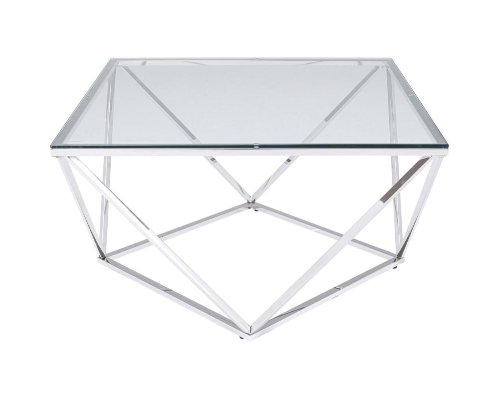 Стол кофейный Cristallo 80x80cm