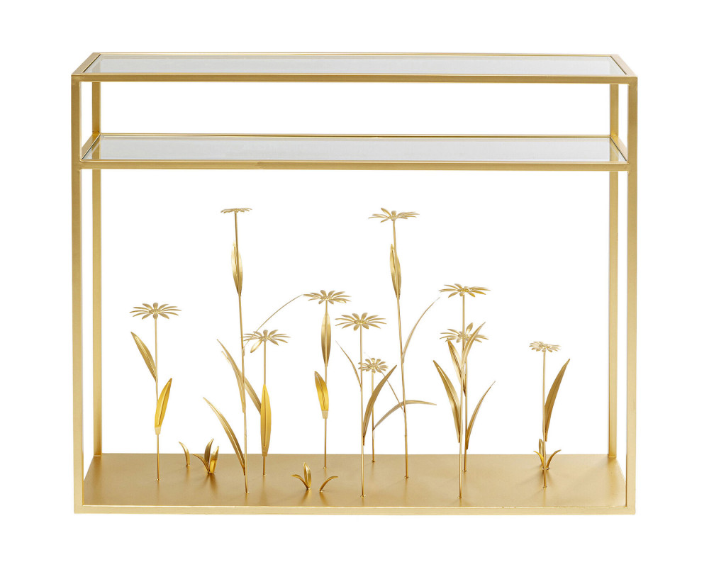 Console Flower Meadow Gold 100cm