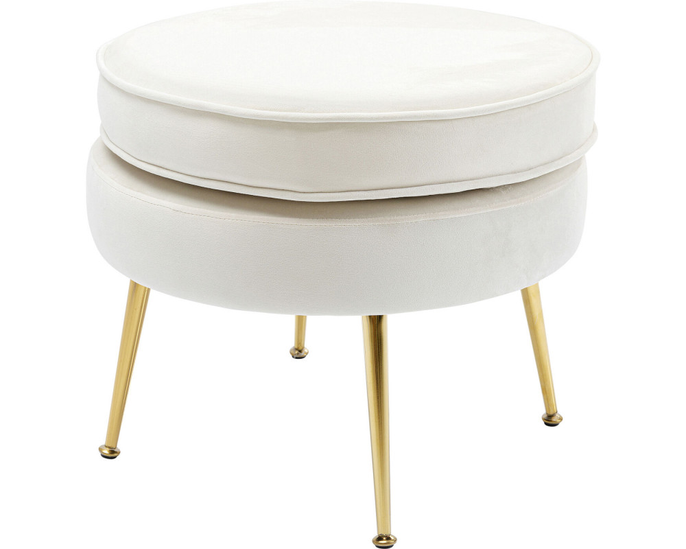 Stool Water Lily Beige
