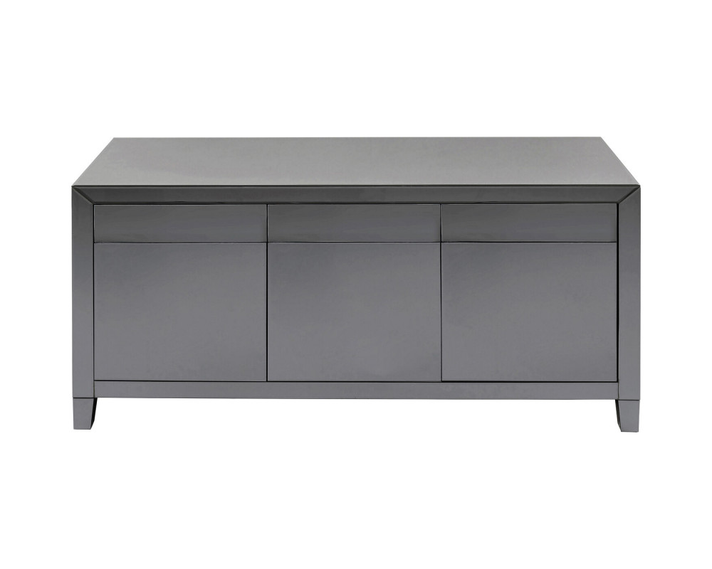 Sideboard Luxury Push Grey
