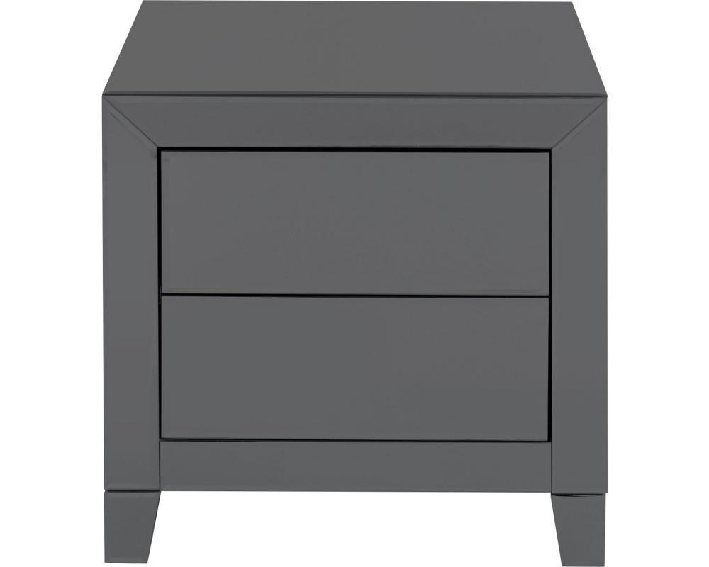 Dresser Small Luxury Push 2 Drawers Grey