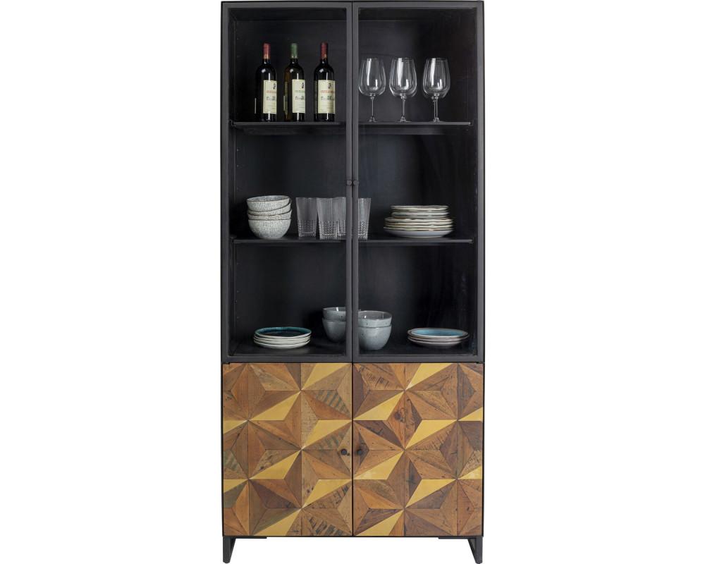 Display Cabinet Illusion Gold 180x90