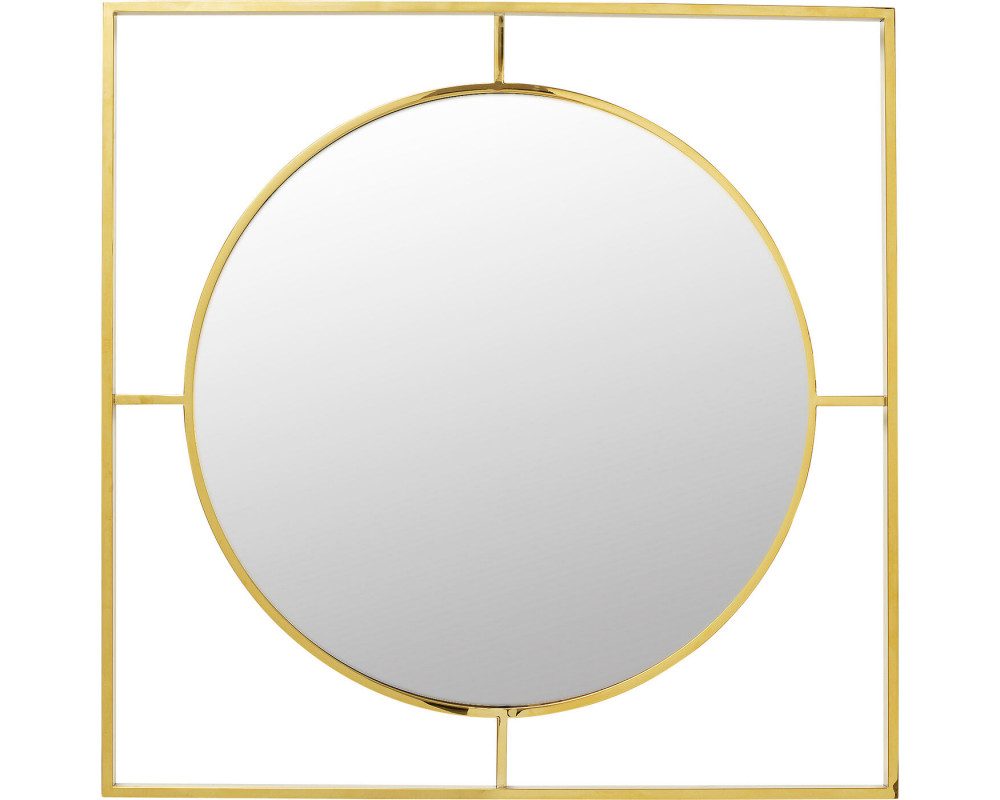 Mirror Stanford Frame Gold Ø90