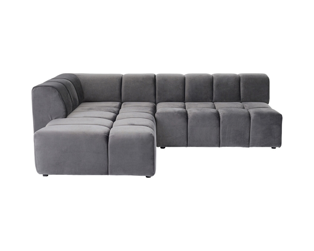Corner Sofa Belami Grey Left