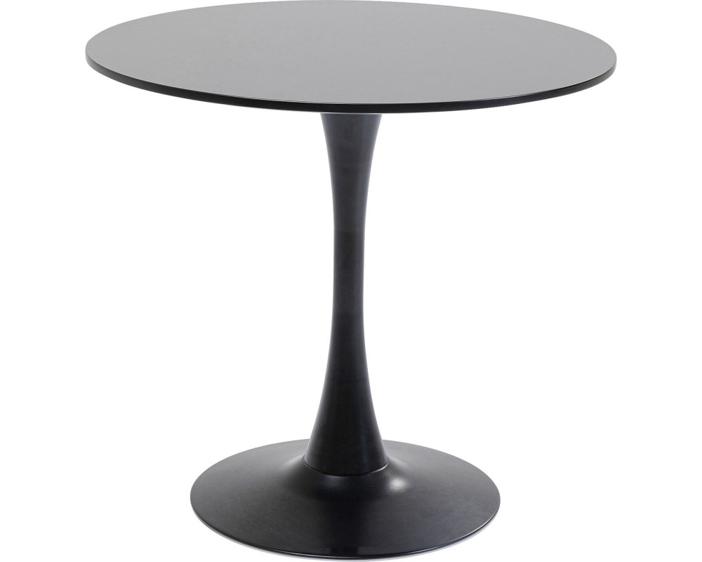 Table Schickeria Black Ø80