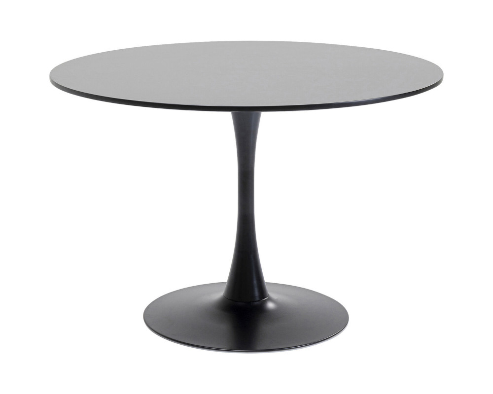 Table Schickeria Black Ø110