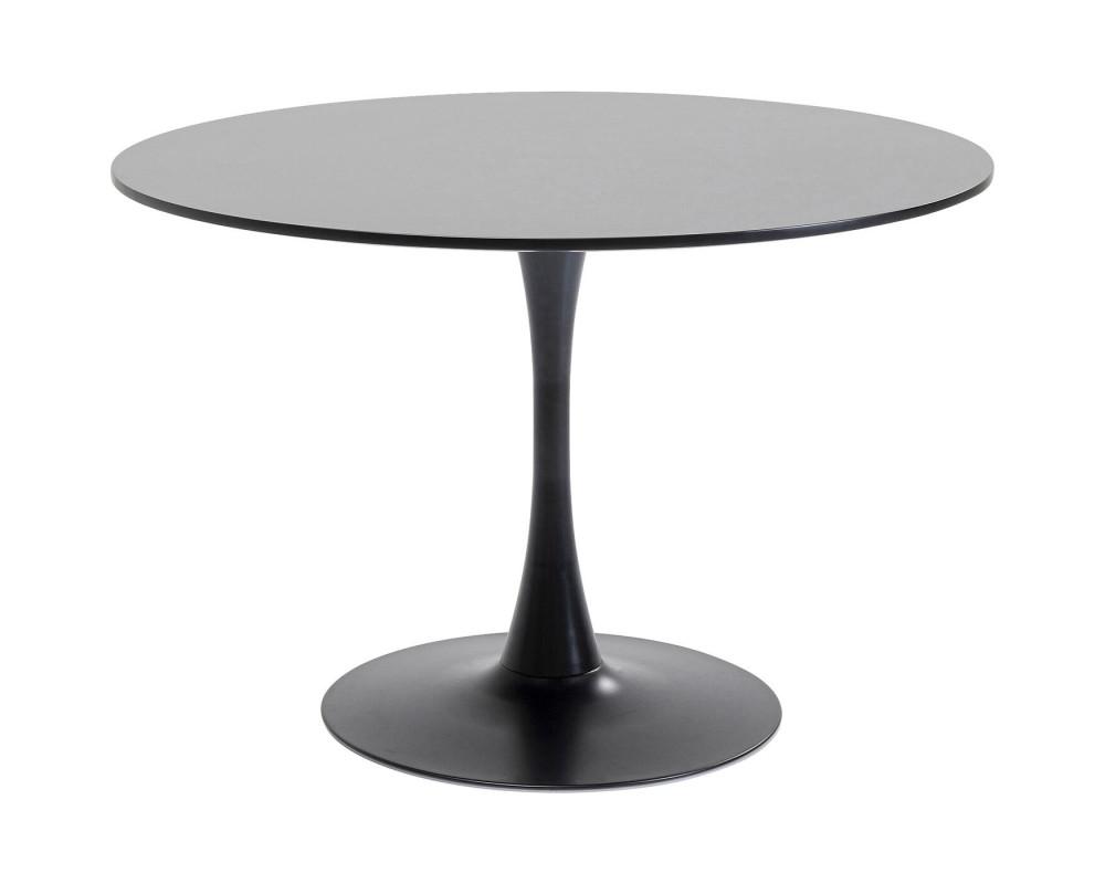 Table Schickeria Black Ø110