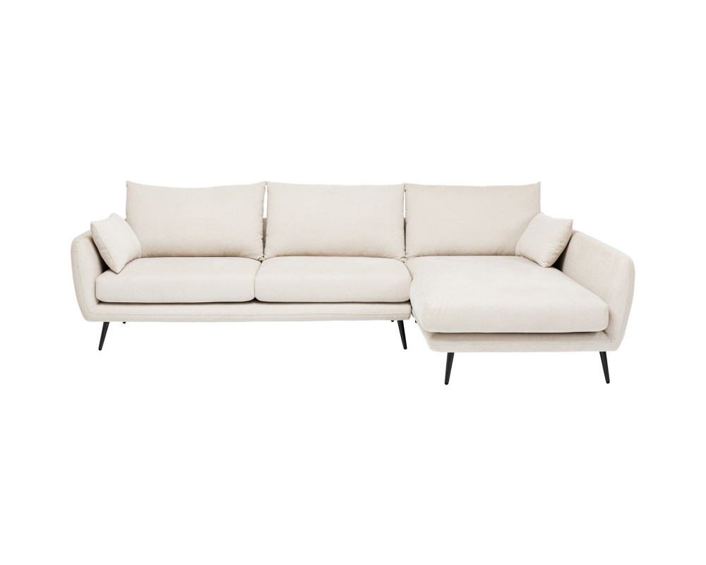 Corner Sofa Amalfi Right Creme 275cm