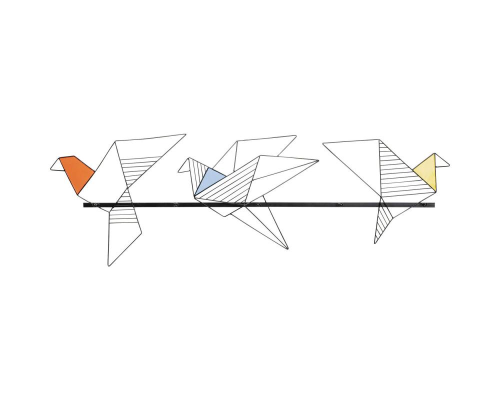 Wall Wardrobe Origami Bird 114cm