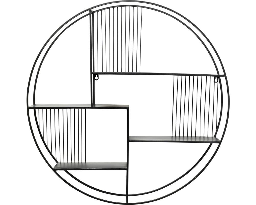 Wall Rack Irregular Cut Ø70cm
