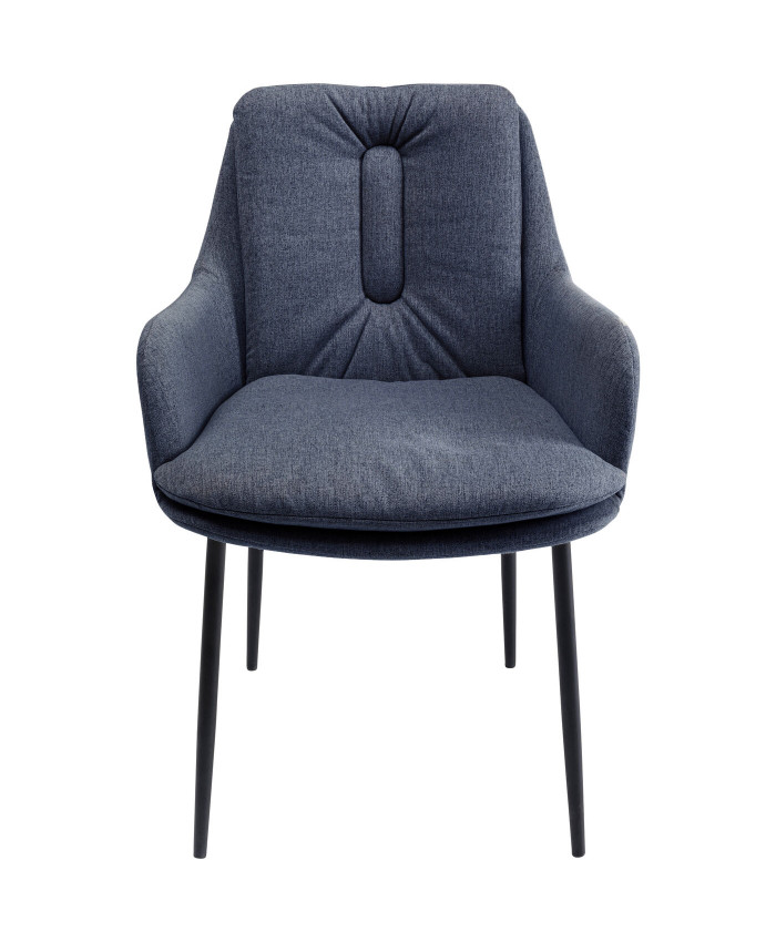 Chair with Armrest Thea Grey