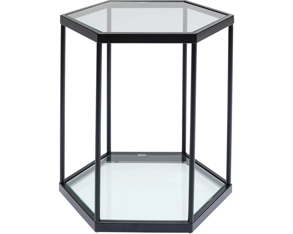 Side Table Comb Black 55x55