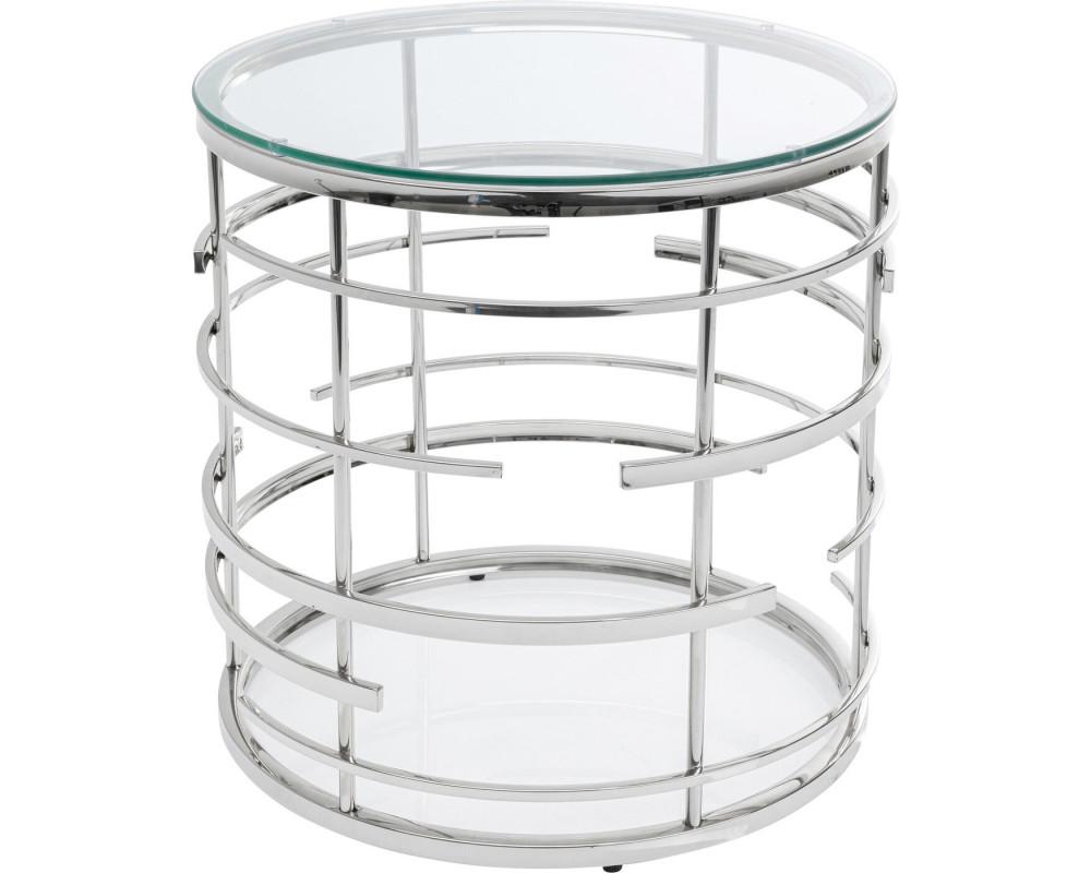 Side Table Jupiter Silver Ø55cm