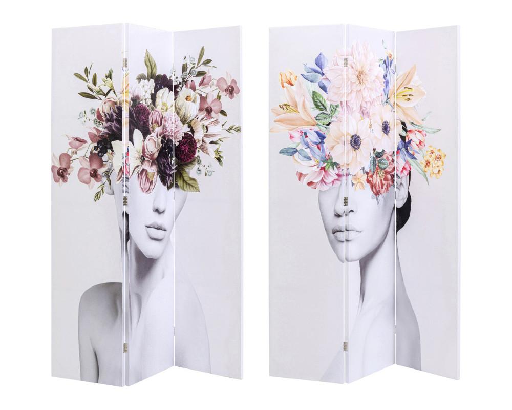 Room Divider Spring vs Autumn Hair 120x180cm