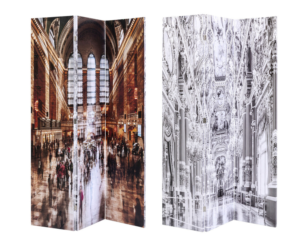 Room Divider Versailles vs Central Station 120x1