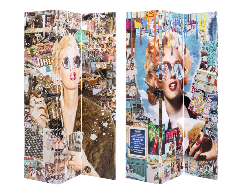 Room Divider Trendy Shopper vs Holiday 60´s 120x18